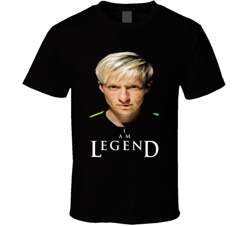 Megan Rapinoe I Am Legend Womens World Cup Soccer Sports T Shirt
