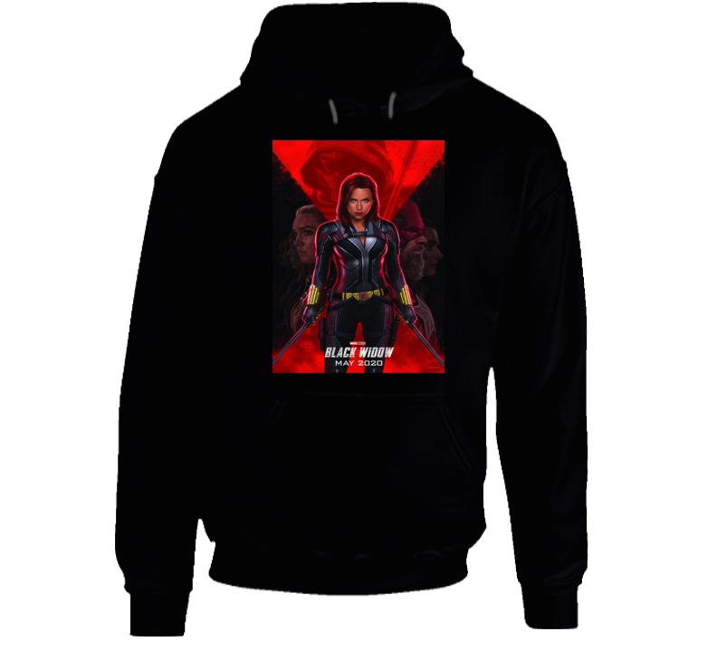 Black Widow Comic Book Movie Hoodie