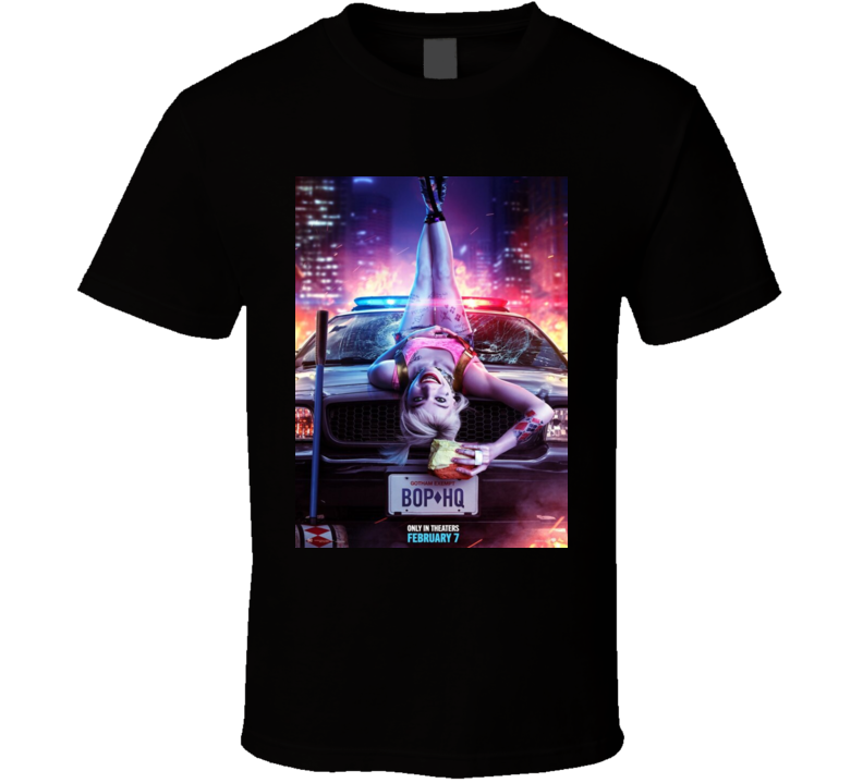 Birds Of Prey Police Hq Comice Book Movie Cult T Shirt