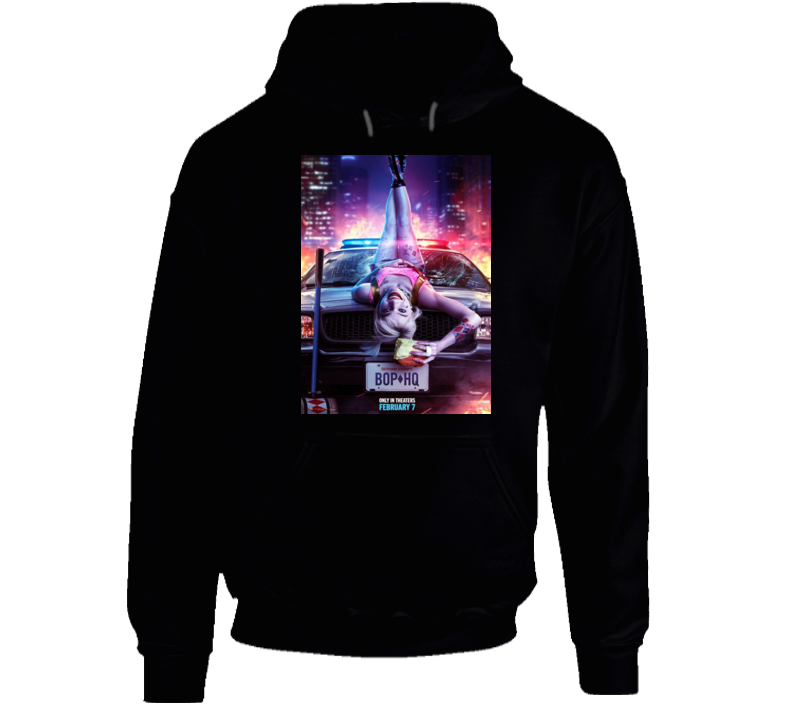 Birds Of Prey Police Hq Comice Book Movie Cult Hoodie