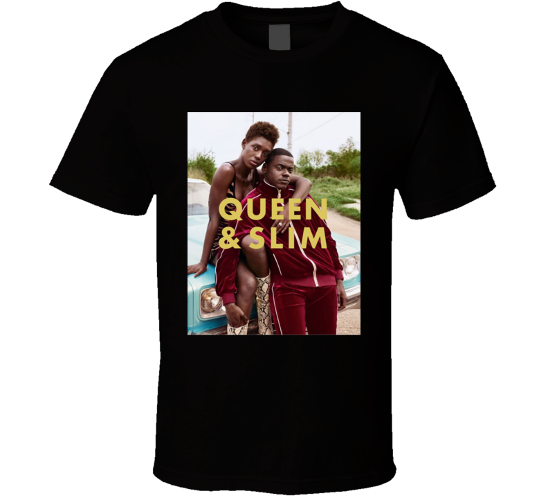 Queen And Slim A Love Story Classic Cult Movie T Shirt