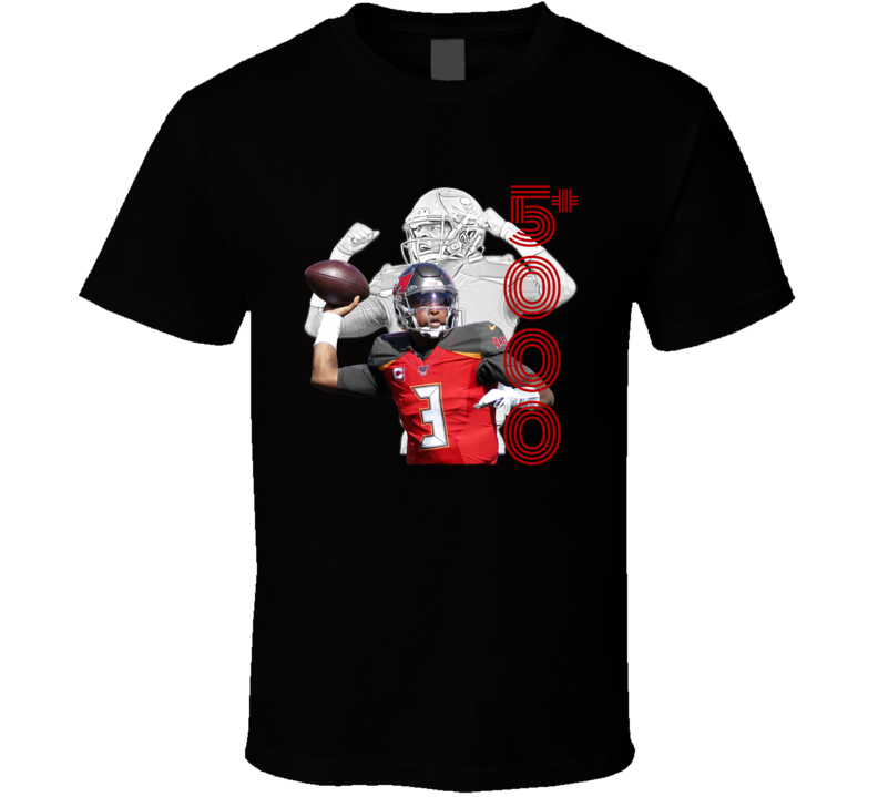 Jameis Winston 5000 Passing Yards Single Season Football T Shirt