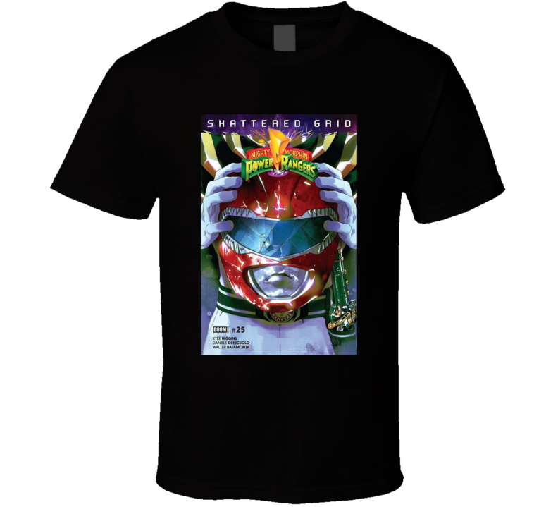 Mighty Morphin Power Rangers Shattered Grid #25 Comic Book T - T Shirt