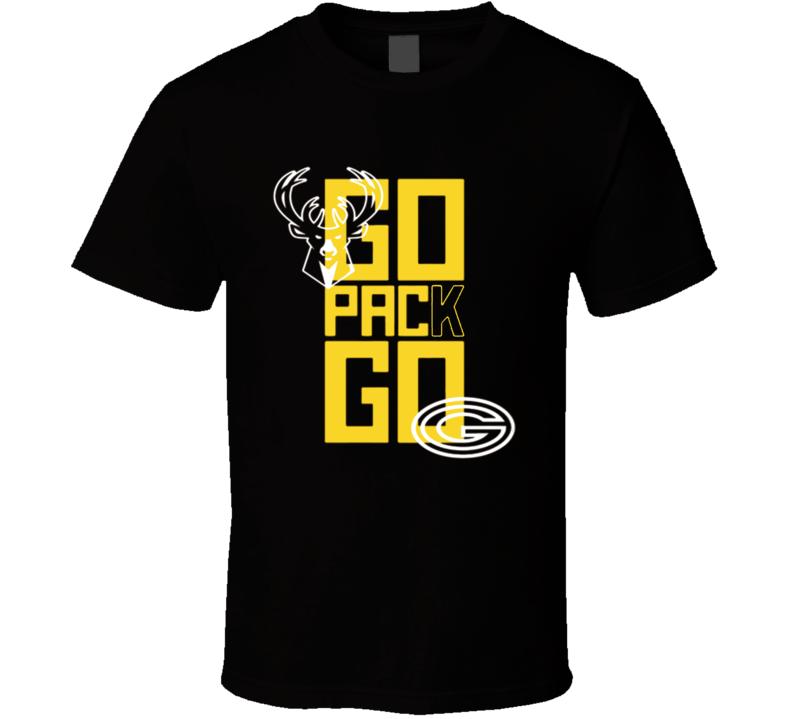 Bucks Celebrate Packers Football Playoff Win Sports T Shirt