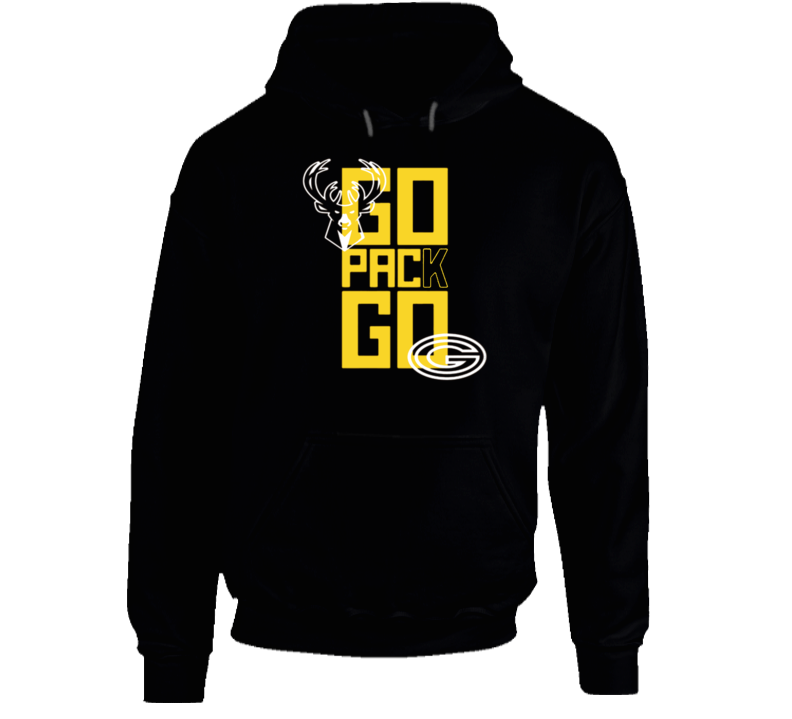 Bucks Celebrate Packers Football Playoff Win Sports Hoodie