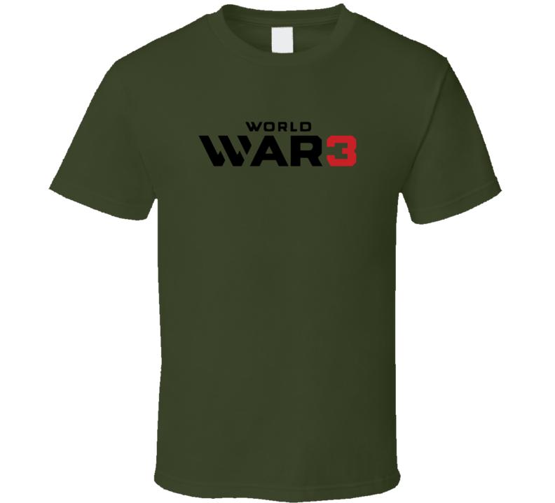 World War 3 Donald Trump Funny Meme T Shirt