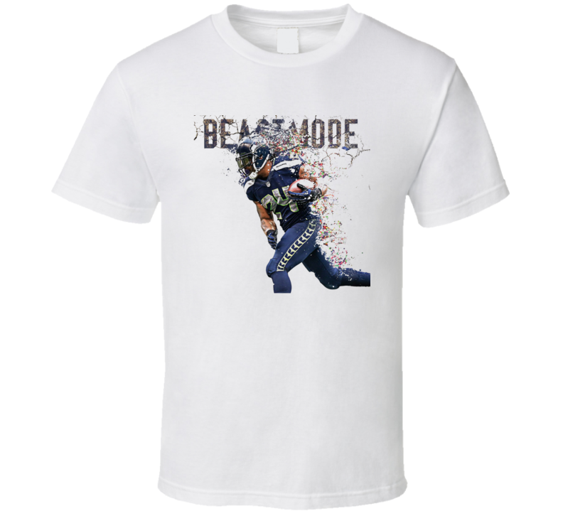 Marshawn Lynch Skittles Funny Football Playoffs T Shirt