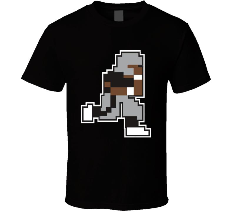 Bo Knows 8 Bit Funny Football T Shirt