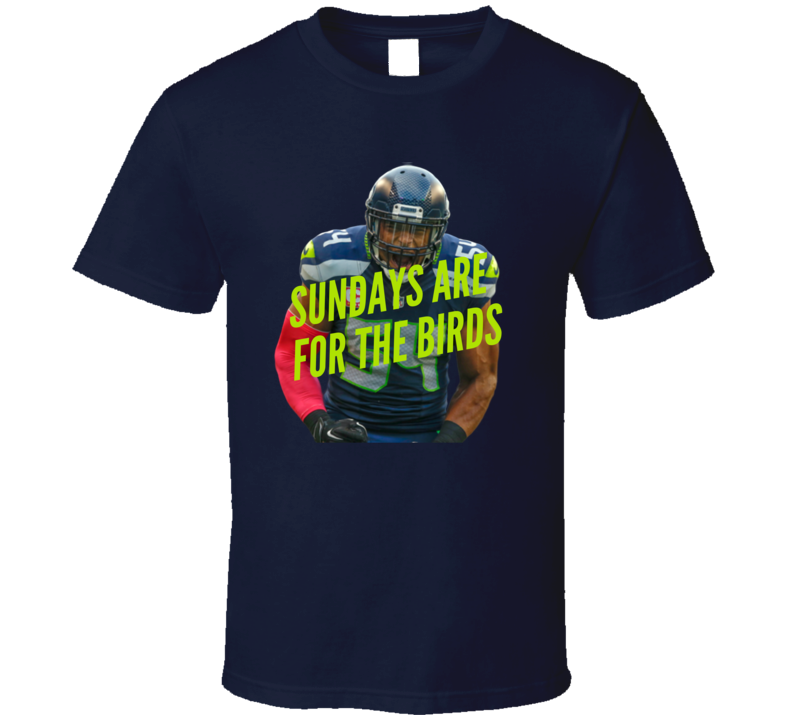 Bobby Wagner Sundays Are For The Birds Seattle Football Playoffs T Shirt