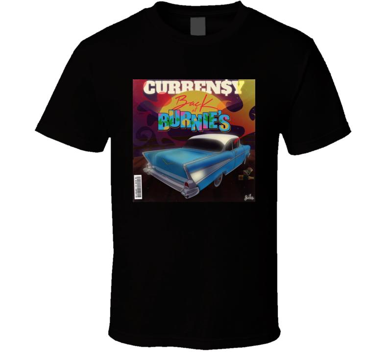 Curren$y Back At Burnies Rap Hip Hop Music Mixtape T Shirt