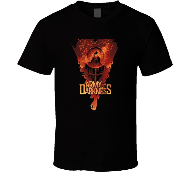 Army Of Darkness Cult Classic Horror Movie T Shirt