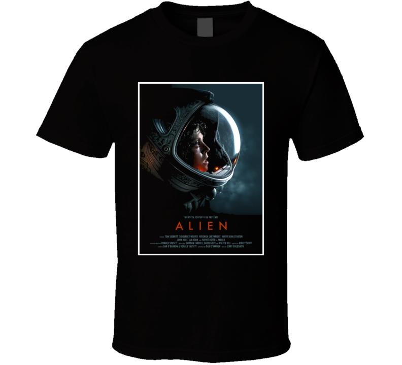 Alien Sci Fi Horror Cult Classic Movie T Shirt