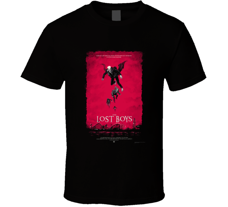 The Lost Boys Cult Horror Classic T Shirt