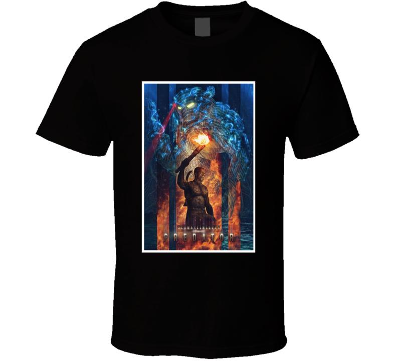 Predator Sci Fi Horror Classic Movie T Shirt