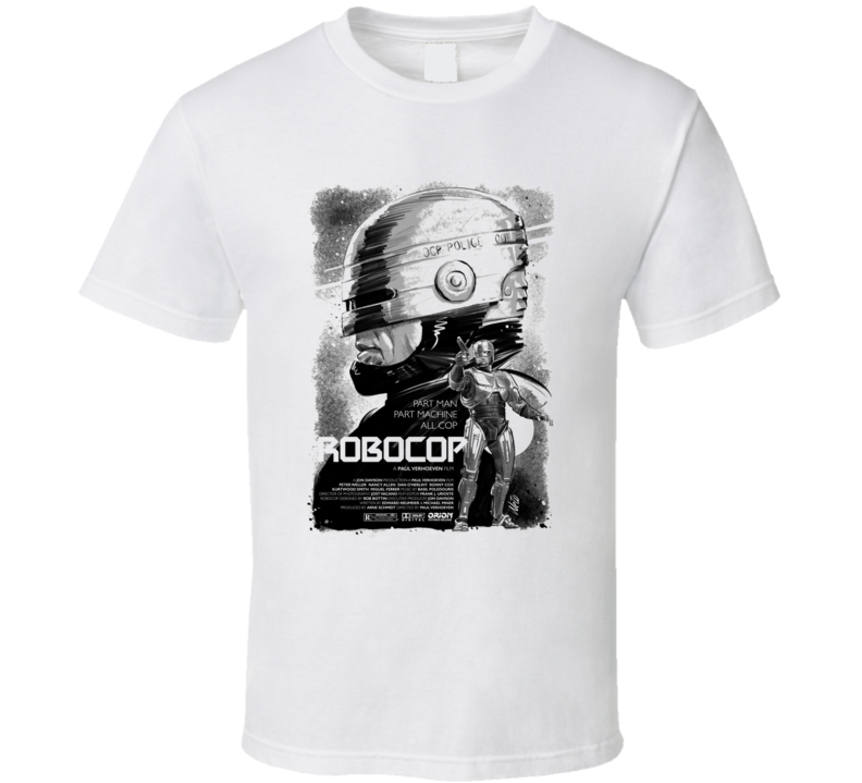Robocop Sci Fi Action Cult Movie Classic T Shirt
