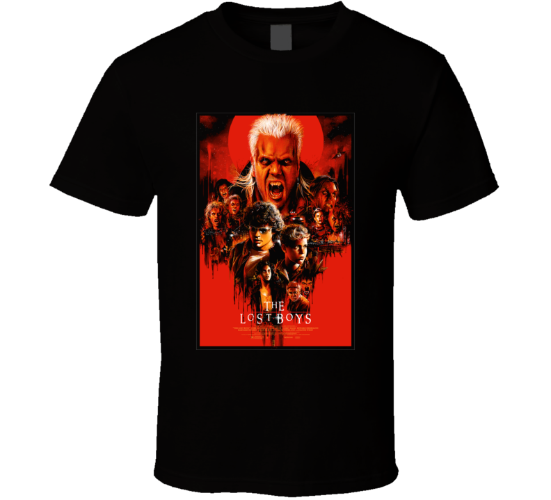 The Lost Boys Horror Movie T Shirt