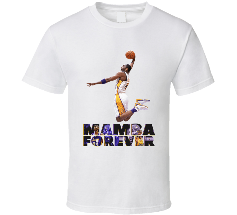 Kobe Bryant Mamba Forever 1978 - 2020 Rest In Peace Basketball T Shirt