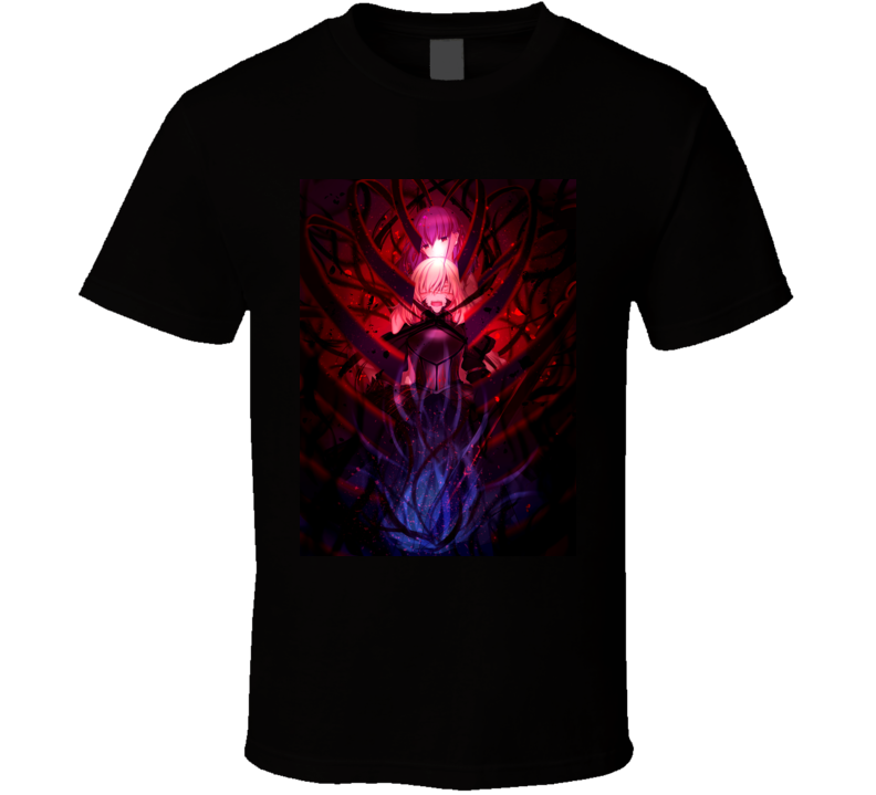Fate/stay Heaven's Feel Anime Movie Brand New Classic Black T Shirt
