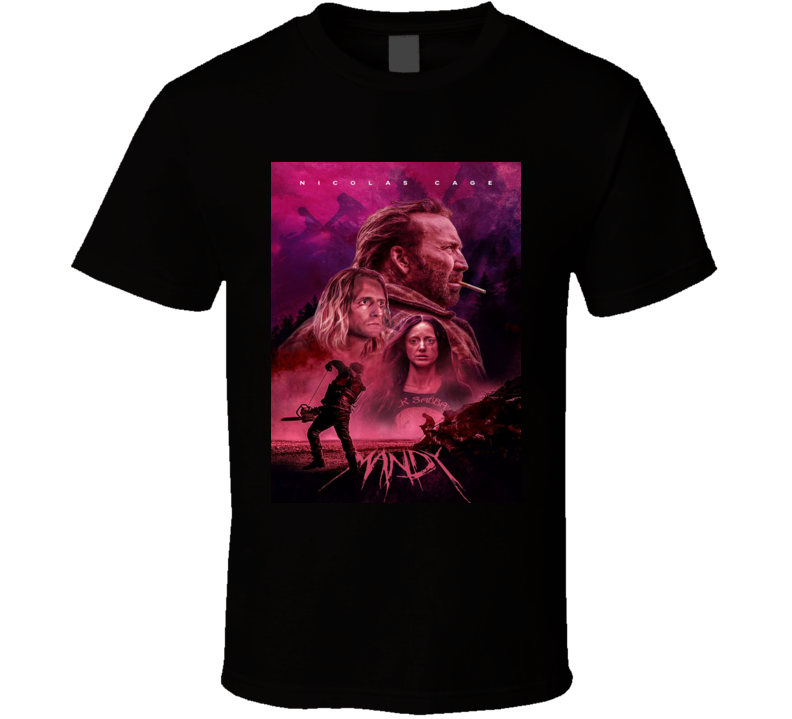 Mandy Cult Horor Movie Brand New Classic Black T Shirt