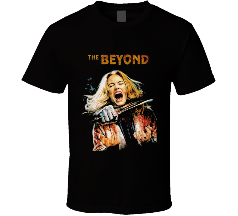 The Beyond Cult Italian Horror Movie Brand New Classic Black T Shirt