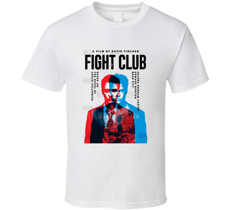 Fight Club Cult Movie Brand New Classic Black T Shirt