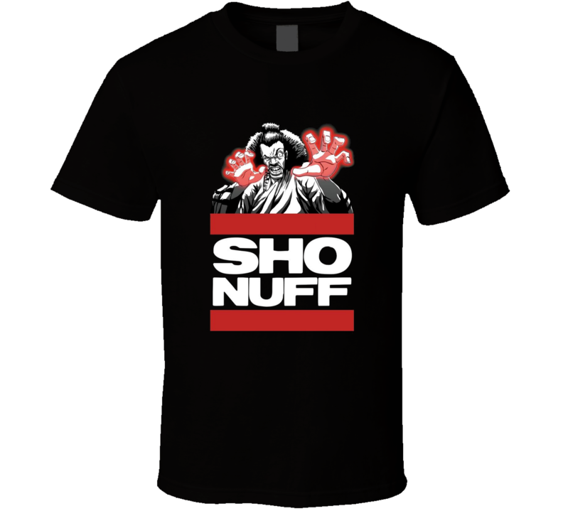 The Last Dragon Sho Nuff Movie Brand New Classic Black T Shirt