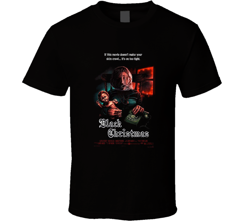 Black Christmas Horror Movie Brand New Classic Black T Shirt
