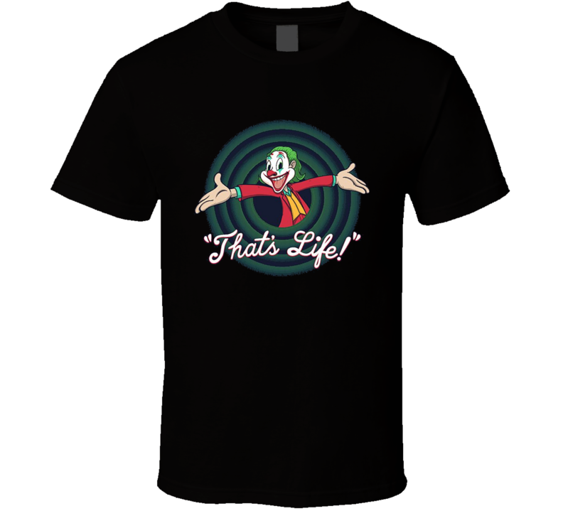 Joker That's Life Movie Parody Brand New Classic Black T Shirt