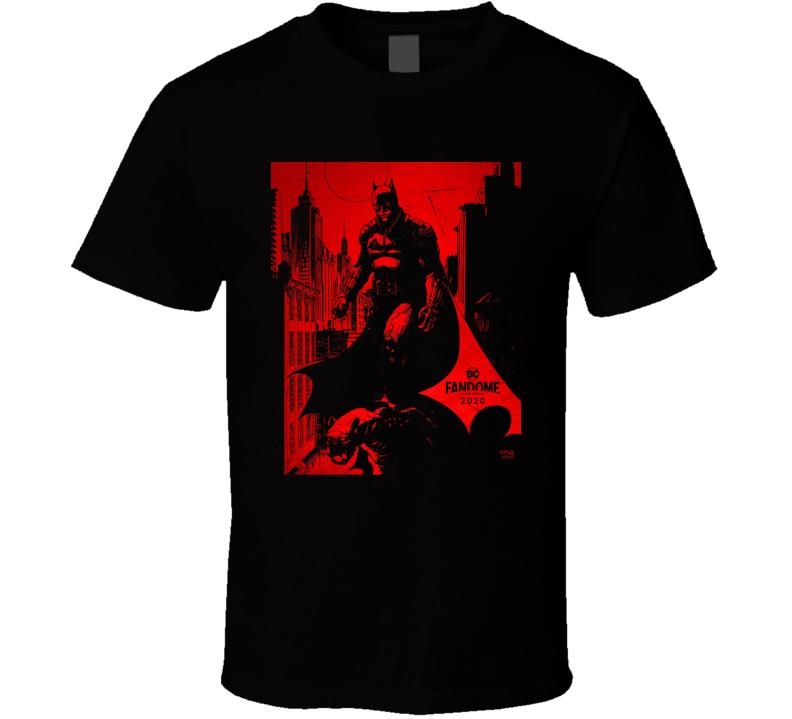 The Batman Comic Book Movie 2021 Brand New Classic Black T Shirt