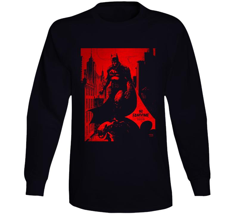 The Batman Comic Book Movie 2021 Brand New Classic Black Long Sleeve