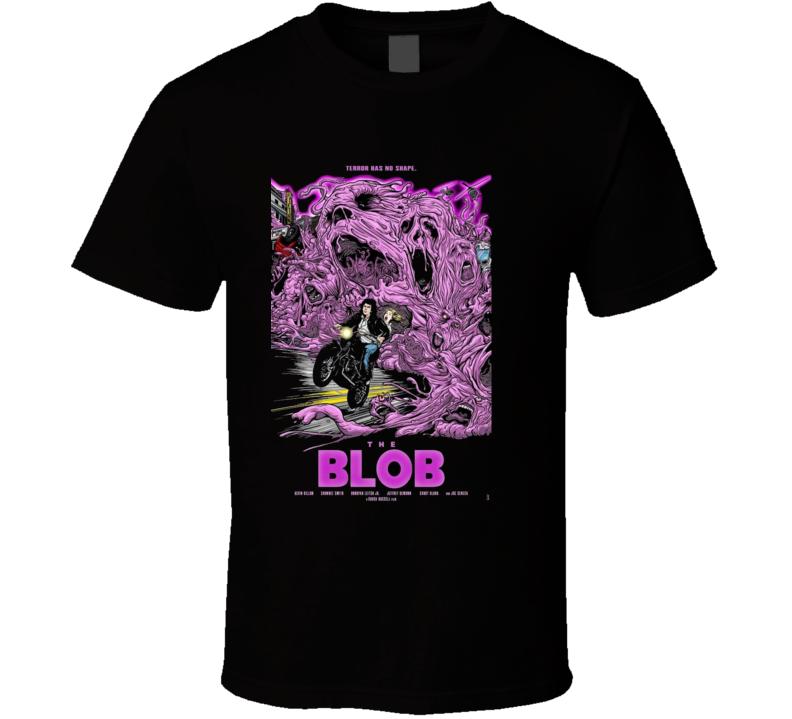 The Blob 90s Horror Remake Brand New Classic Black T Shirt
