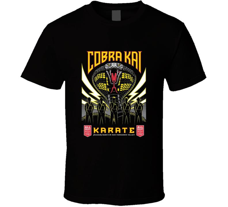 Cobra Kai Karate 80s Movie Brand New Classic T Shirt