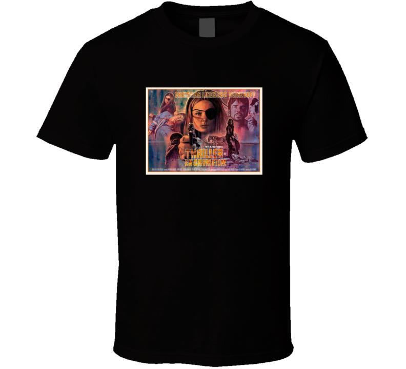 Thriller Cruel Picture Brand New Classic Black Movie T Shirt