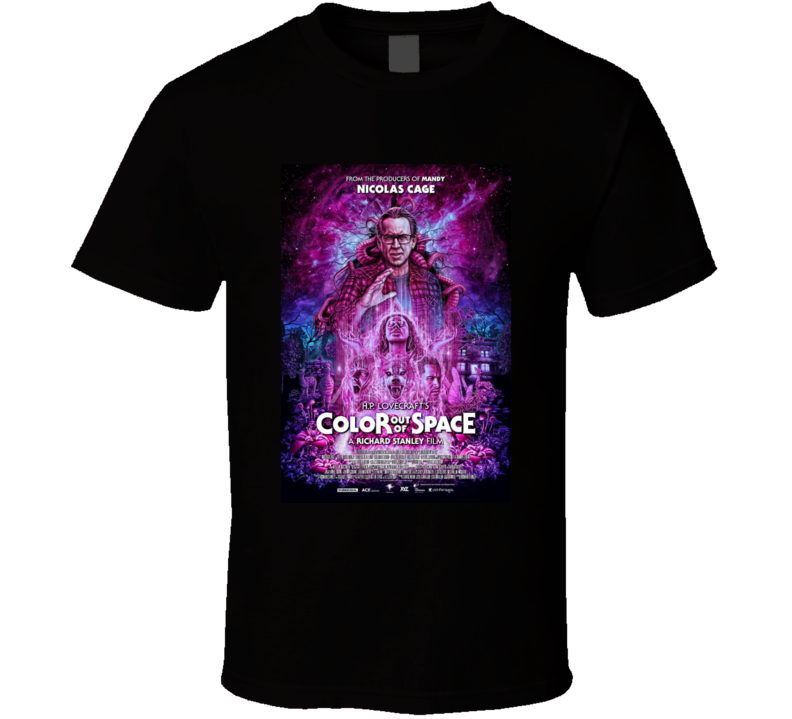Color Out Of Space Lovecraftian Horror Movie Brand New Classi Black Tshirtc  T Shirt