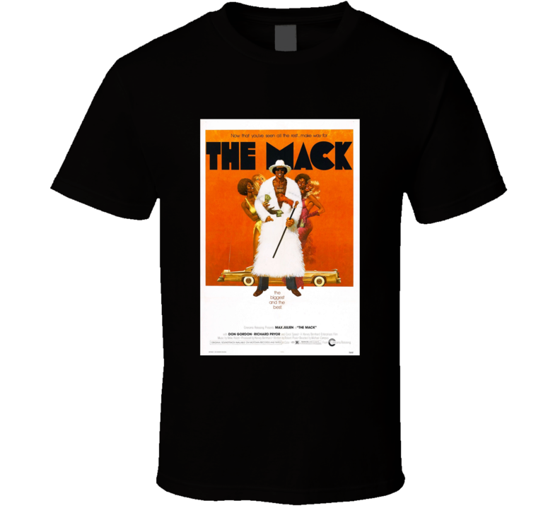 The Mack Classic Comedy Movie Brand New Black T Shirt