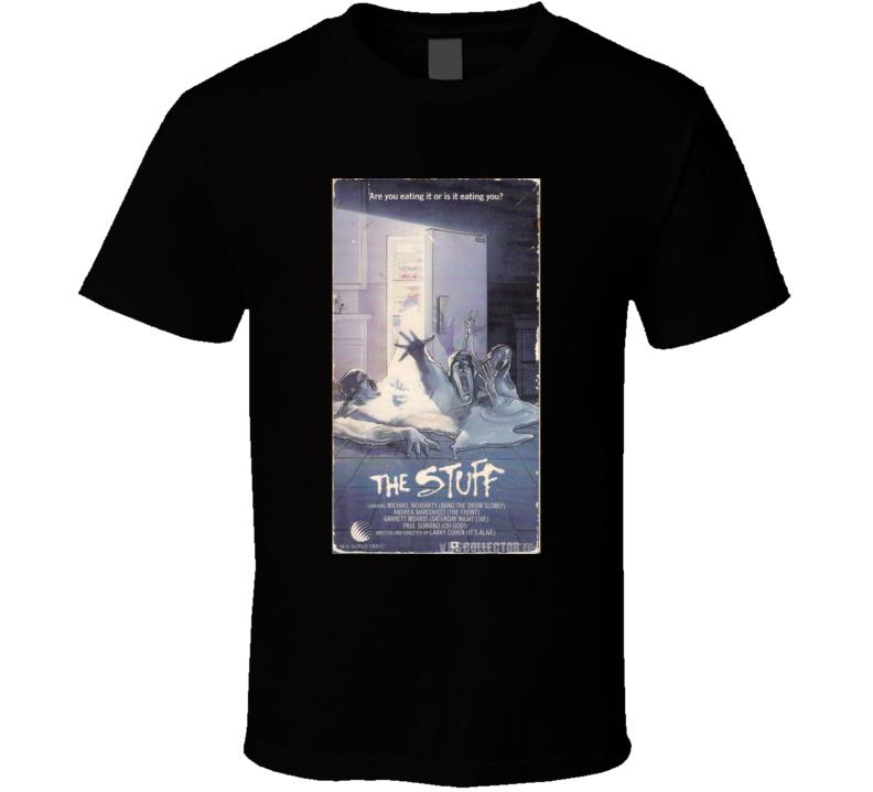 The Stuff Classic Horror Movie Brand New Black T Shirt
