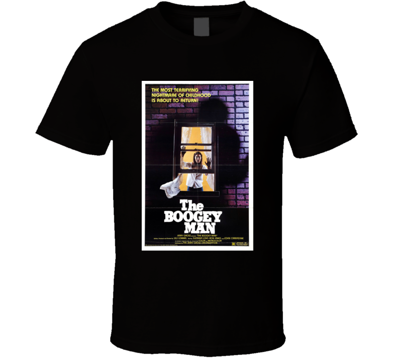 The Boogey Man Classic Horror Movie Brand New Black T Shirt