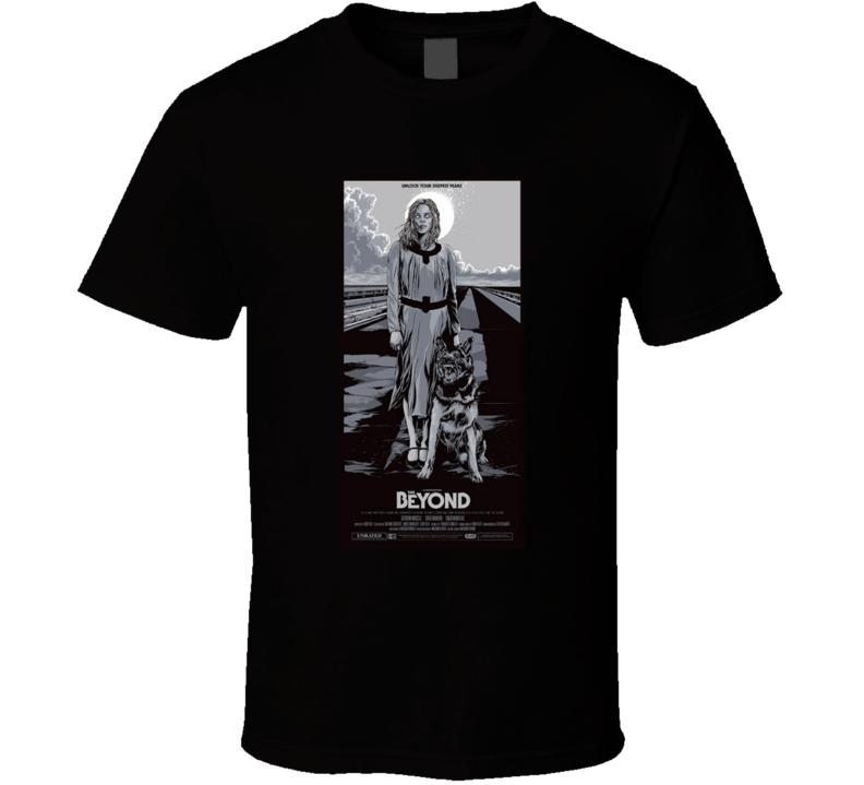 The Beyond Horror Movie Brand New Classic Black T Shirt