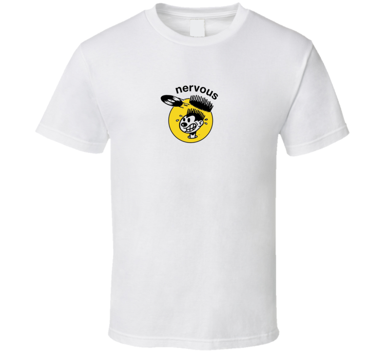 Nervous Records Hip Hop Label Brand New Classic White T Shirt