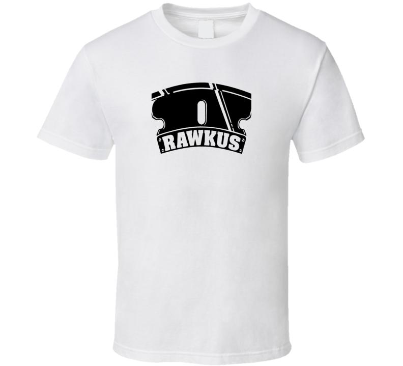 Rawkus Records Label Classic Music Brand New White T Shirt
