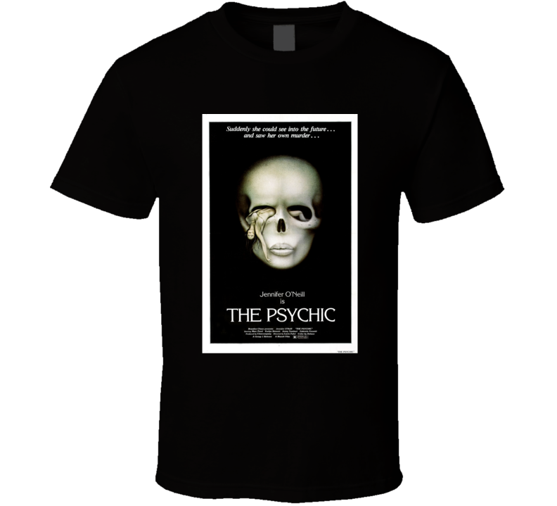 The Psychic Horror Movie Classic Brand New Black T Shirt