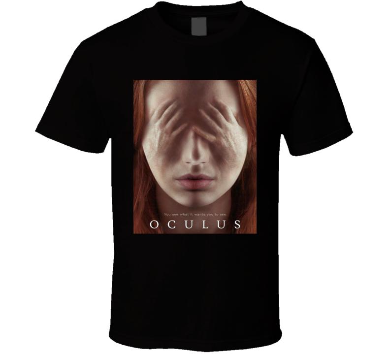 Oculus Horror Movie Classic Brand New Black T Shirt