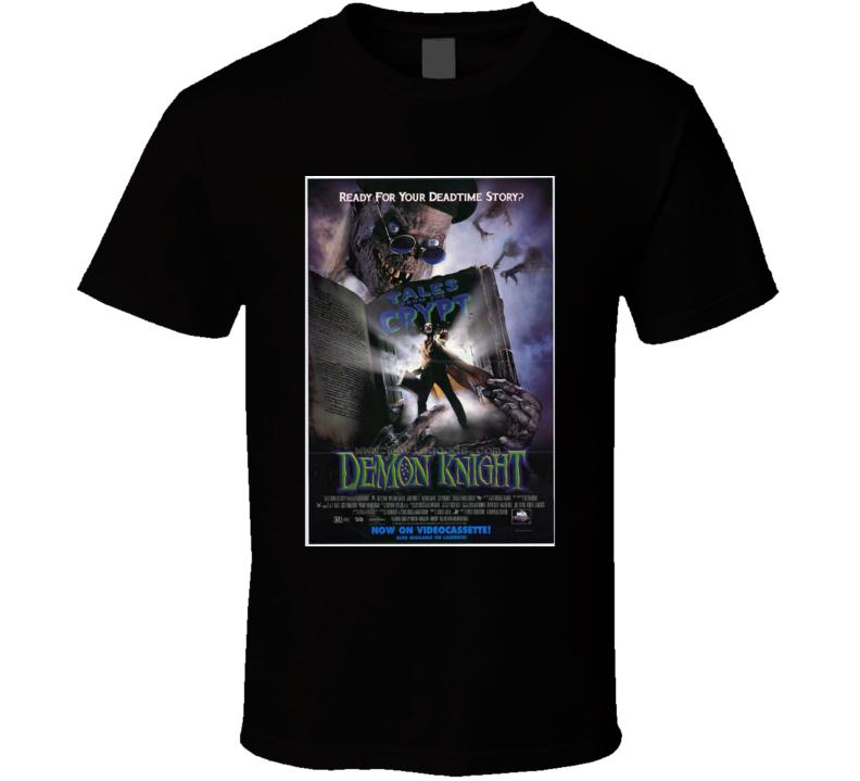 Demon Knight Horror Movie Classic Brand New Black T Shirt