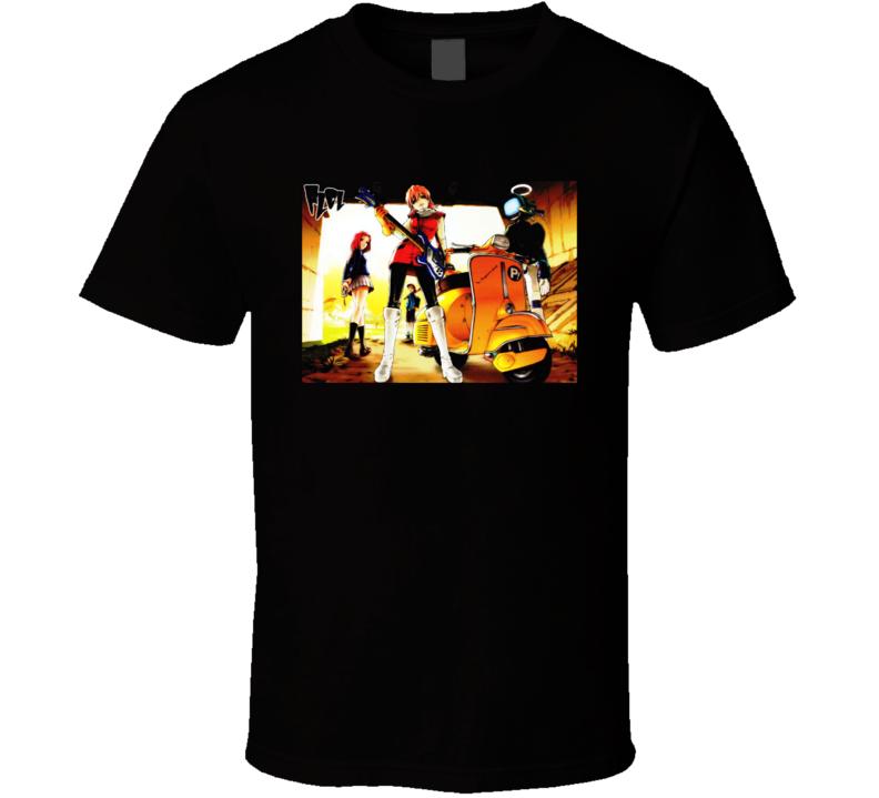 Furi Kuri Anime T Shirt