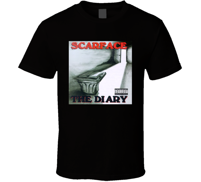 Scarface The Diary Hip Hop Brand New Classic T Shirt