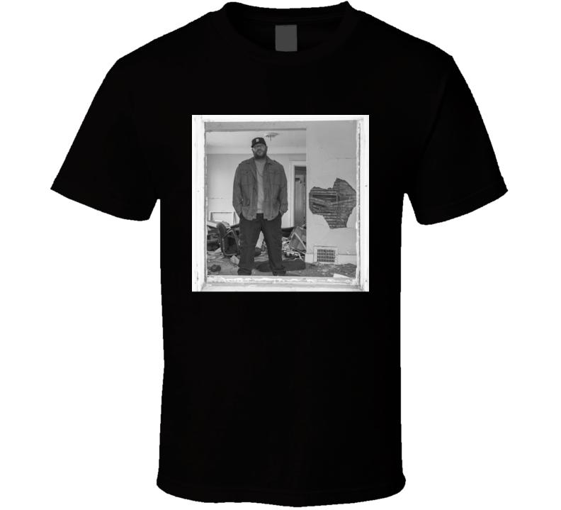 Apollo Brown Cigarette Burns Brand New Classic Black Hip Hop T Shirt