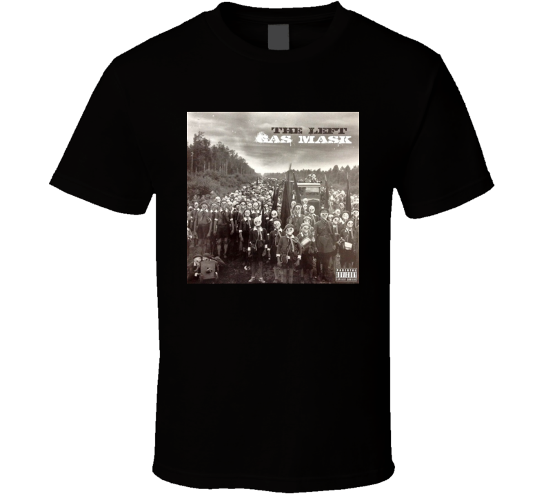 Apollo Brown The Left Gas Mask Brand New Classic Black Hip Hop T Shirt