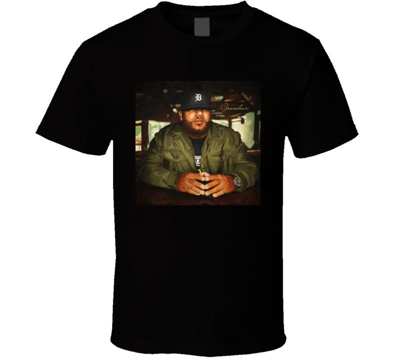 Apollo Brown Grandeur Brand New Classic Black Hip Hop T Shirt