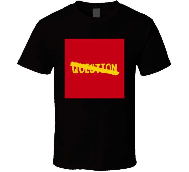 Apollo Brown No Question Brand New Classic Black Hip Hop T Shirt