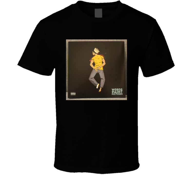 Apollo Brown And Big Pooh Words Paint Pictures Brand New Classic Black Hip Hop T Shirt